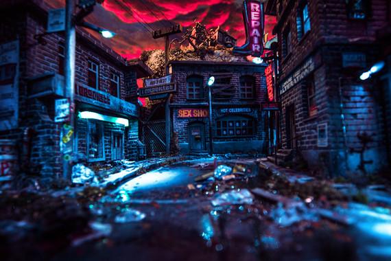 028 - Nightfall in the Lot (c) Kassiopeya 2019