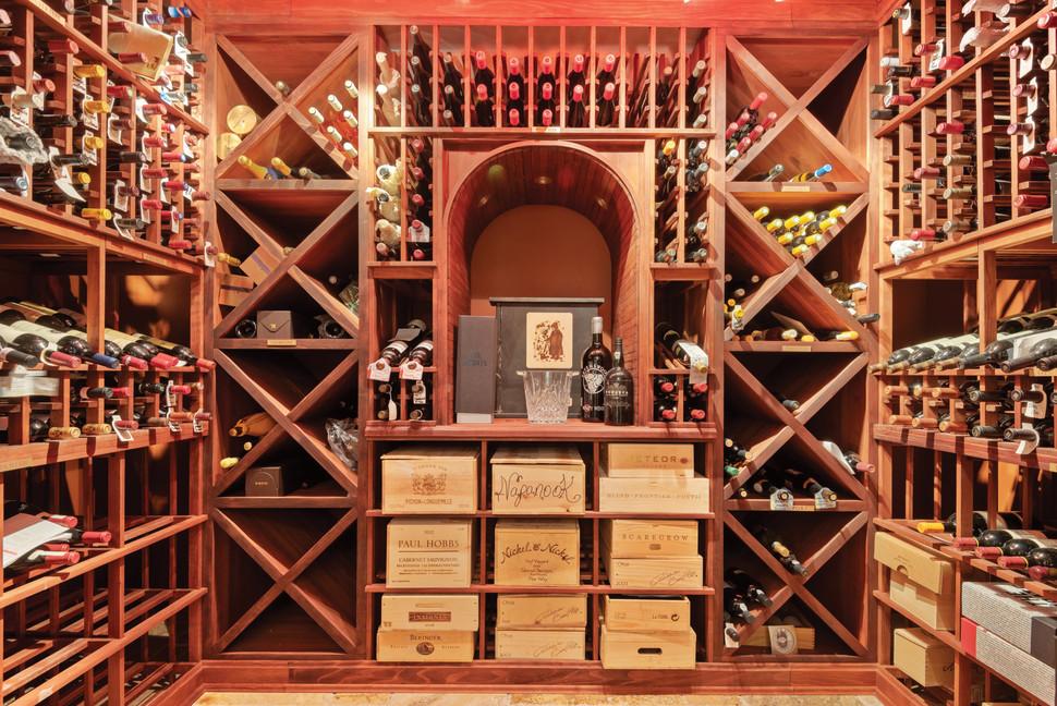 2001-Bottle Wine Cellar