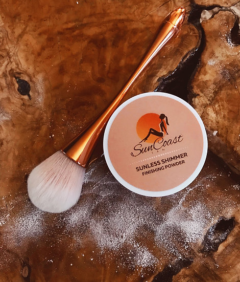 Sunless Shimmer Bronze Body Powder | SPF