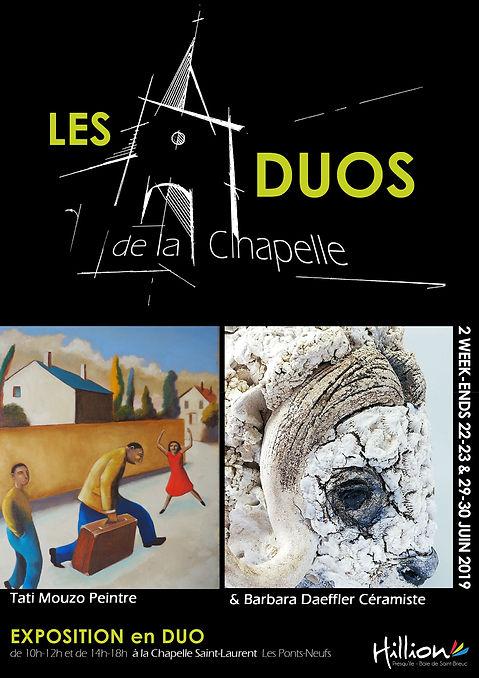 les duos de la chapelle affiche juin 201