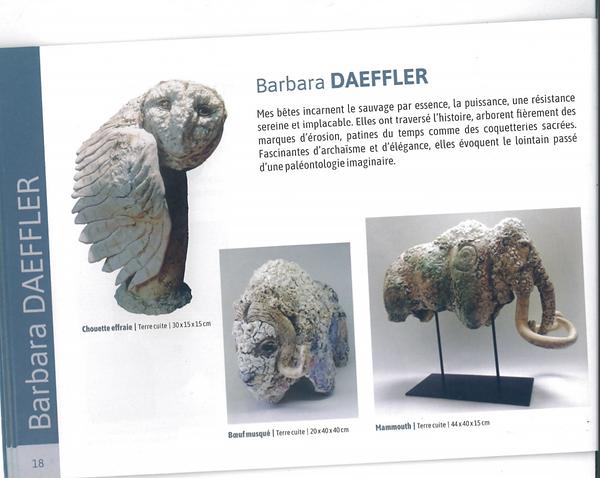 Catalogue Biennale d'art animalier- Ramb