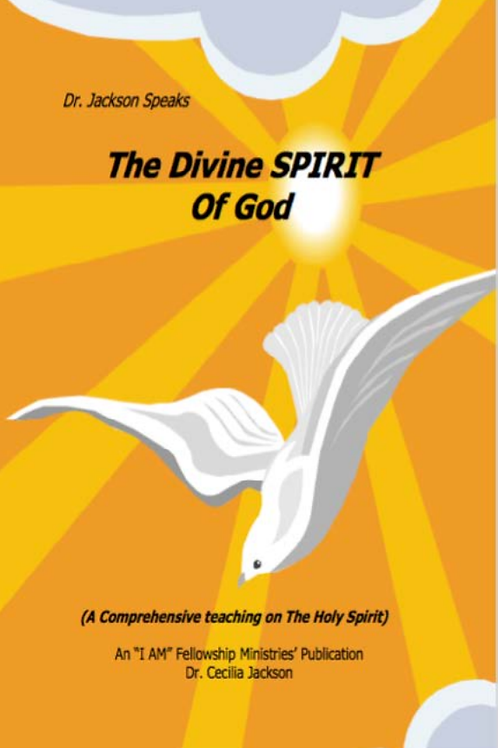The Divine Spirit of God eBook - Dr. Cecilia Jackson