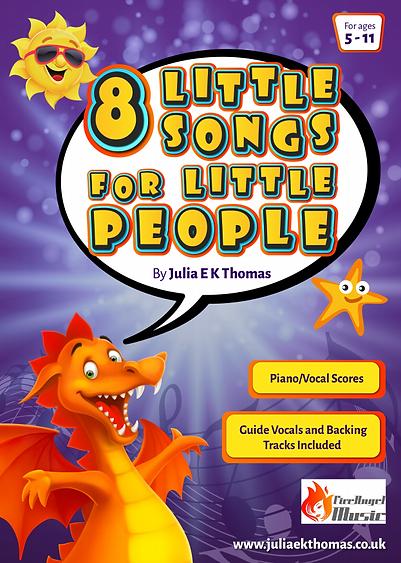 8 Little Songs for Little People by Juli