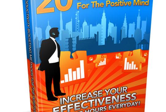 20 Boosting Methods for Positive Mind eBook + Article