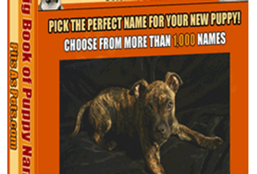 Big Book of Puppy Names (58 Pages eBook)