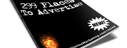 299 Places to Advertise