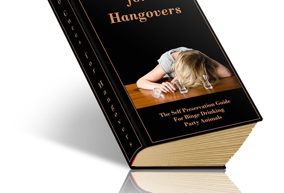 40 Cures for Hangovers eBook + 3 Articles
