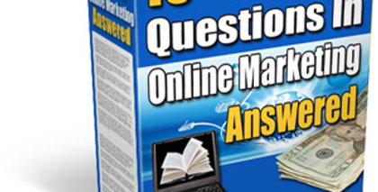 15 of the Biggest Questions in Online Marketing