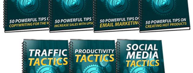 350 Sales Marketing Tactics (7 eBooks)