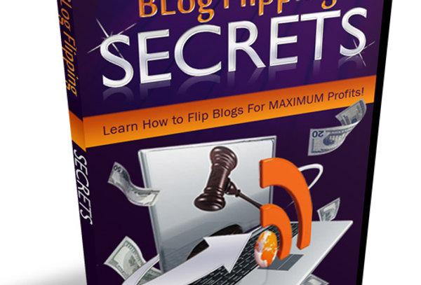 Blog Flipping Secrets + 5 Autoresponders + 5 Videos