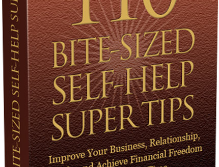 110 Bite Sized Self Help Super Tips