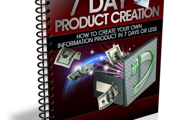 7 Days Product Creation eBook + 10 Bonus Articles