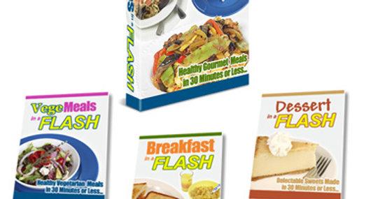 101 Recipes in a Flash + 3 Bonuses