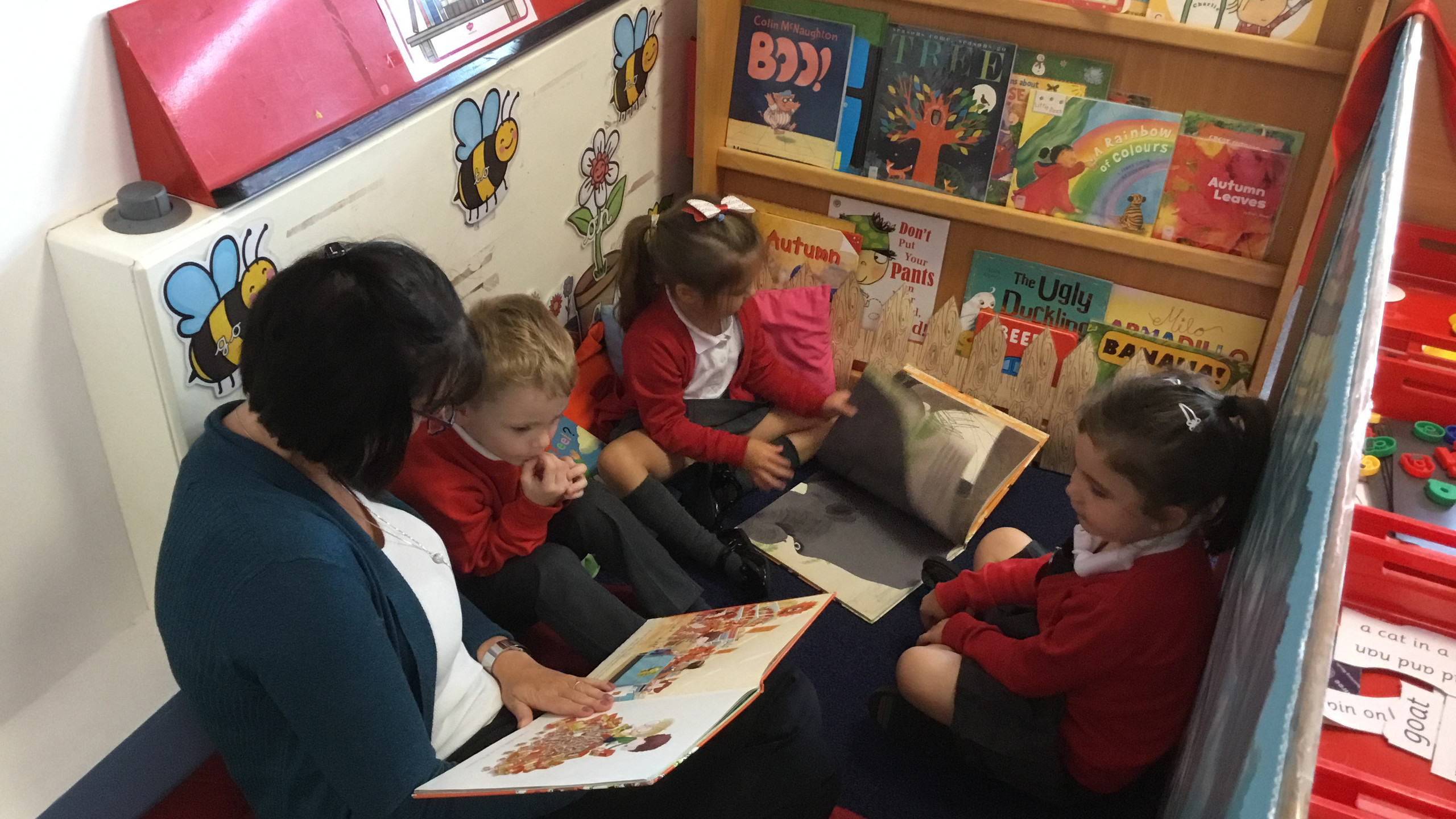 Reception story time