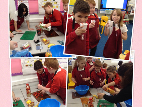 Smoothie Making in Y3