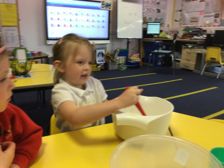 Reception learning this week