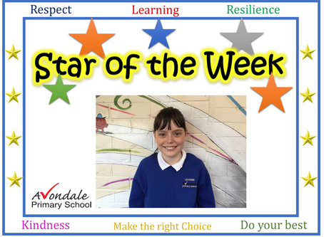 Pupil of the Week Winners