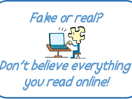 Can you believe everything you read online?