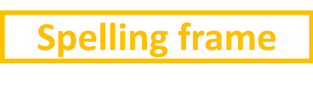 Image result for spelling frame.co.uk logo