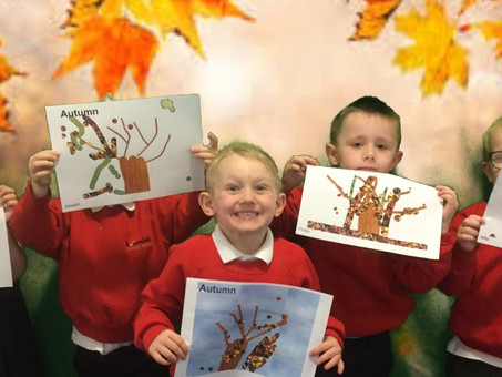 Autumn Trees in Reception