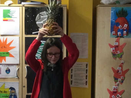 Mr Simpson's Pineapple of Bravery Award