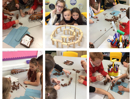 Stone Age Day in Year 3