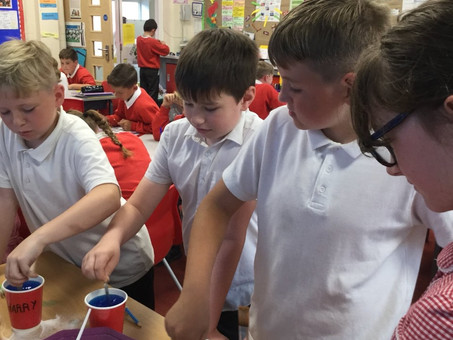 Making Crystals in Year 5
