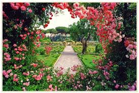 Stop and smell the Roses Romantic Garden with ties to Jewish Rome