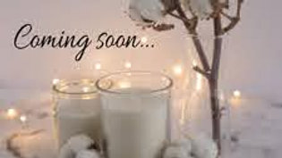 Our range of candles will be coming soon!!!