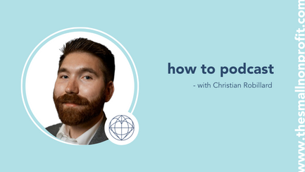 how to podcast with Christian