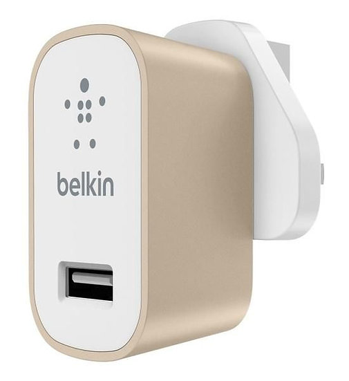 Belkin Mixit Metallic Home Charger Gold