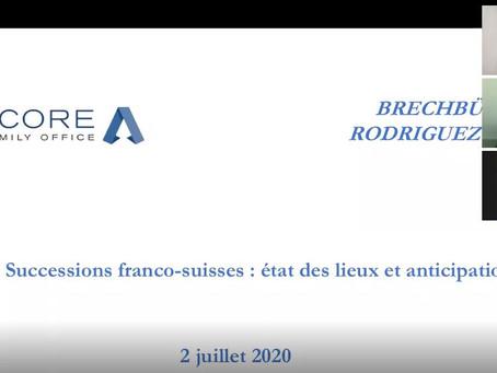 Webinaire - Acquisition et détention d'une résidence secondaire en France par un résident suisse