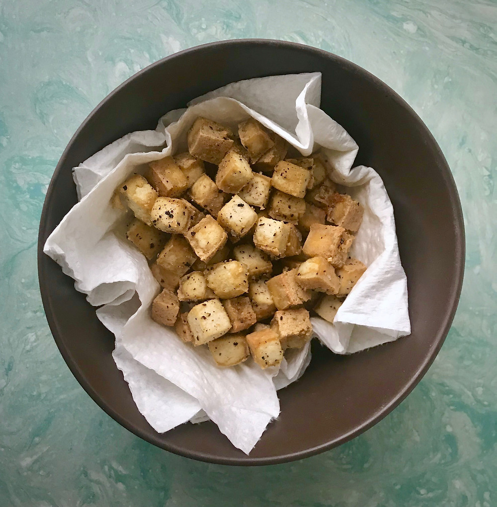 Salt and Pepper Tofu Bites
