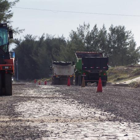Prefeitura reinicia obras na Avenida Beira Mar com recursos próprios