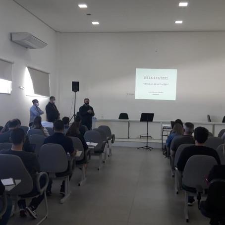 AMESC promove treinamento sobre nova lei das licitações