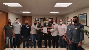 Assinado convênio de R$ 9 milhões para a Usina de Asfalto do Consórcio Mampituba