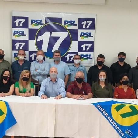 Scaini apresenta candidatos e propostas para Balneário Arroio do Silva