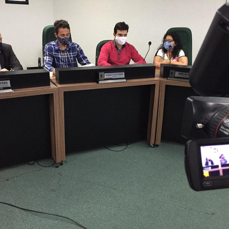 Sob comando de Peri, Câmara inova com transmissão ao vivo de reuniões de comissões
