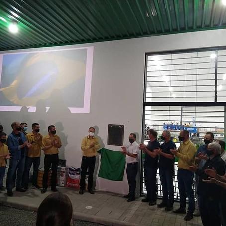 Prefeito Anibal Brambila participa da inauguração da Coopersulca