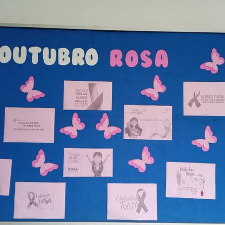 Outubro Rosa: Secretaria Municipal de Saúde prepara ações de prevenção e conscientização