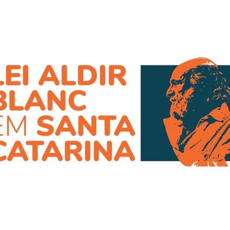 Edital Aldir Blanc SC 2021 será lançado pelo governador Carlos Moisés