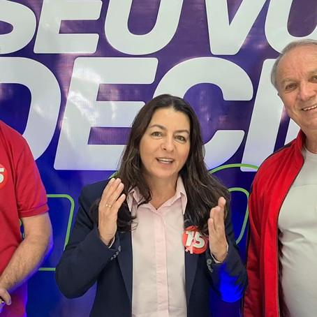 Gislaine Cunha debate propostas e proporciona o mesmo a Cristian e Clodoaldo