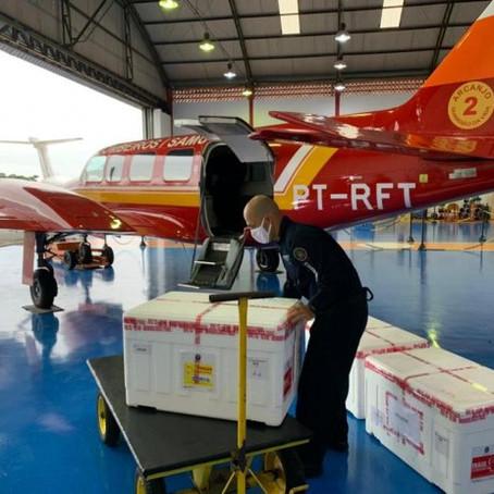 Governo do Estado já iniciou distribuição das vacinas aos municípios catarinenses