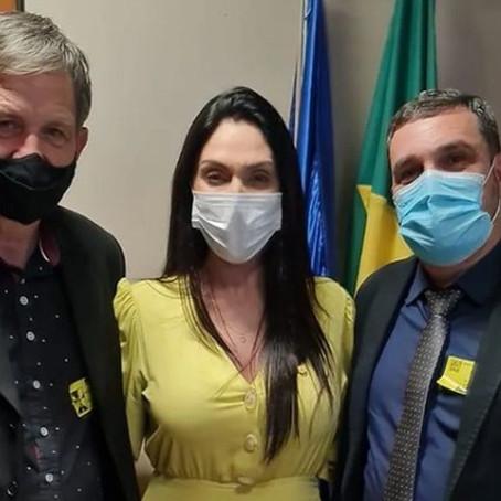 Prefeito Almides percorre Brasília em busca de recursos