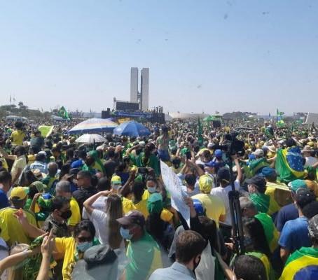 Manifestações foram atos pró Bolsonaro. Nada mais!