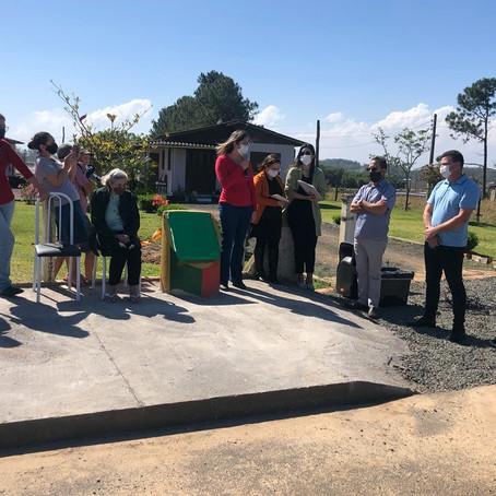 Governo de Maracajá entrega três obras à comunidade