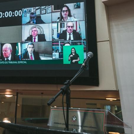 Impeachment: julgamento de Carlos Moisés inicia as 9 horas!