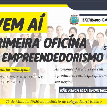 Prefeitura de Gaivota e Sebrae promovem oficina de empreendedorismo