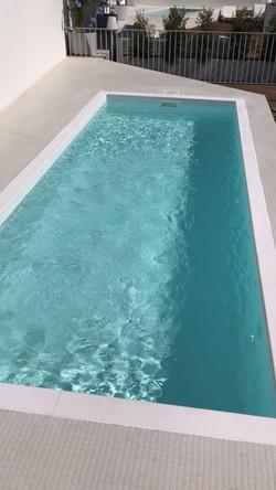 Pequena piscina em Alcantara