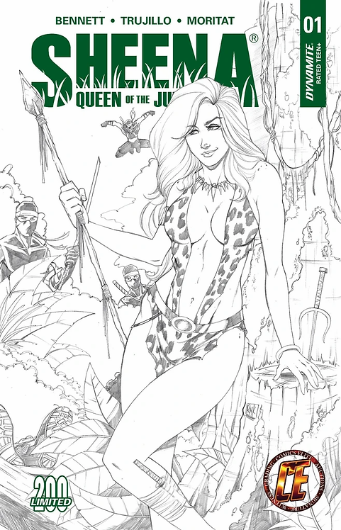 SHEENA: QUEEN OF THE JUNGLE #1 RYAN KINCAID EXCLUSIVE VARIANT LIMITED TO 200